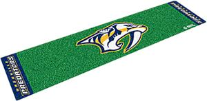 Fan Mats NHL Nashville Predators Putting Green Mat