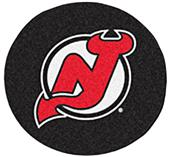 Fan Mats NHL New Jersey Devils Puck Mats