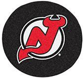 Fan Mats NHL New Jersey Devils Puck Mats