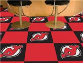 Fan Mats NHL New Jersey Devils Carpet Tiles