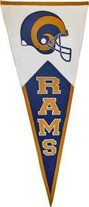 Winning Streak NFL Saint Louis Rams Pennant