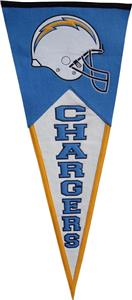 Winning Streak NFL San Diego Chargers Pennant