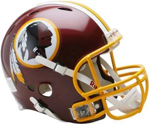 NFL Redskins OnField Full Size Helmet Revolution