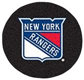 Fan Mats NHL New York Rangers Puck Mats
