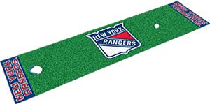 Fan Mats NHL New York Rangers Putting Green Mats