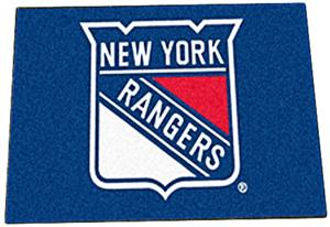Fan Mats NHL New York Rangers Starter Mats