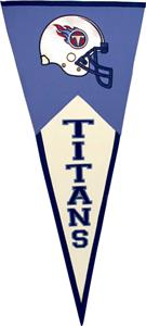 Winning Streak Tennessee Titans Classic Pennant