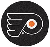 Fan Mats NHL Philadelphia Flyers Puck Mats