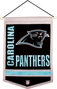 Winning Streak NFL Carolina Panthers Banner
