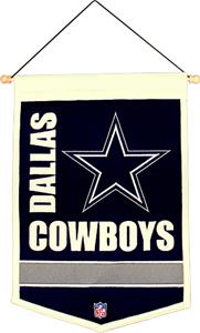Winning Streak NFL Dallas Cowboys Tradition Banner