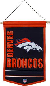 Winning Streak NFL Denver Broncos Banner
