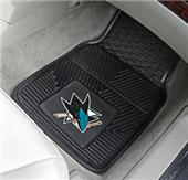 Fan Mats NHL San Jose Sharks Car Mats (set)