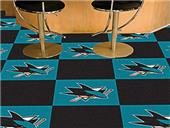 Fan Mats NHL San Jose Sharks Carpet Tiles