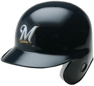 MLB Milwaukee Brewers Dodgers Mini Helmet -Replica