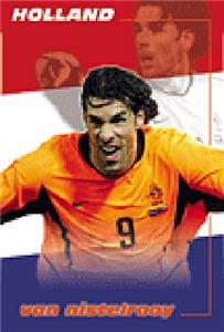 CLOSEOUT-Van Nistelrooy Stars of Euro 2004 Posters