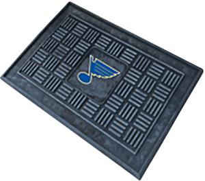 Fan Mats NHL St Louis Blues Door Mats