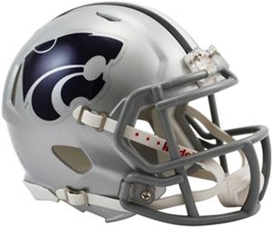 NCAA Kansas State Speed Mini Helmet
