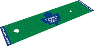 Fan Mats NHL Toronto Maple Leafs Putting Green Mat