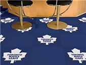 Fan Mats NHL Toronto Maple Leafs Carpet Tiles