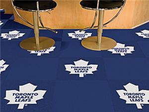 Fan Mats NHL Toronto Maple Leafs Carpet Tiles