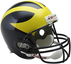 NCAA Michigan Deluxe Replica Full Size Helmet