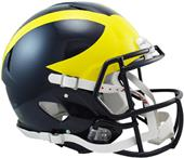 NCAA Michigan Full Size Speed Authentic Helmet