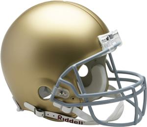 NCAA Notre Dame On-Field Full Size Helmet (VSR4)