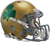 NCAA Notre Dame Shamrock Speed Authentic Helmet