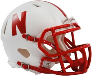 NCAA Nebraska Speed Mini Helmet