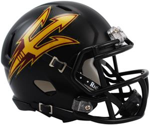 NCAA Arizona State Black Speed Mini Helmet