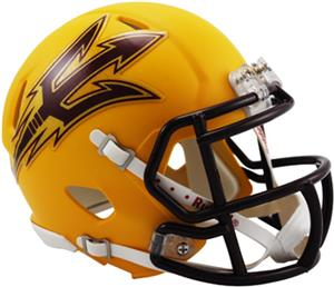 NCAA Arizona State Gold Speed Mini Helmet