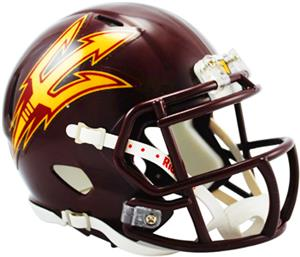 NCAA Arizona State Maroon Speed Mini Helmet
