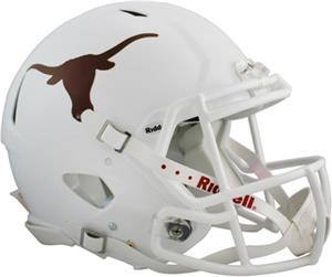 NCAA Texas Full Size Speed Authentic Helmet