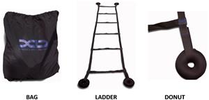 XD Fitness 10' Speed & Agility Ladder Pro