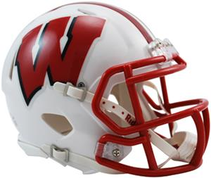 NCAA Wisconsin Speed Mini Helmet