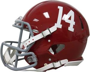 NCAA Alabama #14 Speed Mini Helmet