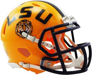 NCAA Louisiana State Speed Mini Helmet