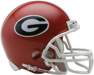 NCAA Georgia Mini Helmet (Replica)