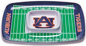 COLLEGIATE Auburn Chips & Dip Tray (Set of 6)