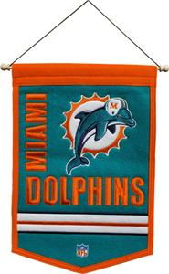 Winning Streak NFL Miami Dolphins Banner
