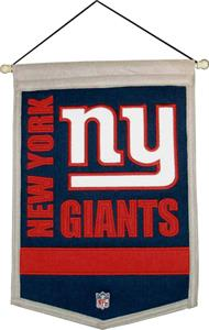 Winning Streak NFL New York Giants Banner