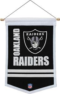 Winning Streak NFL Oakland Raiders Banners