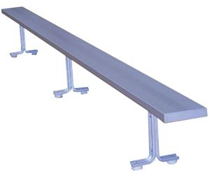 Aluminum Portable Indoor Benches Without Back