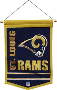 Winning Streak NFL St Louis Rams Traditions Banner