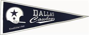 Winning Streak NFL Dallas Cowboys Pennant