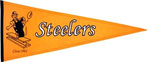Winning Streak NFL Steelers Throwback Pennant