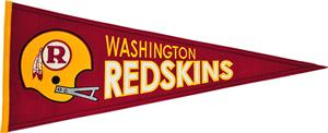 Winning Streak NFL Redskins Throwback Pennant