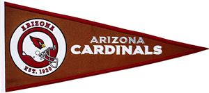 Winning Streak NFL Arizona Cardinals Pennant
