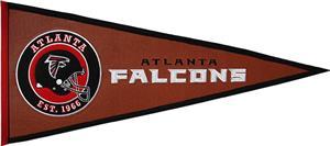 Winning Streak NFL Atlanta Falcons Pigskin Pennant