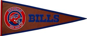 Winning Streak NFL Buffalo Bills Pigskin Pennant